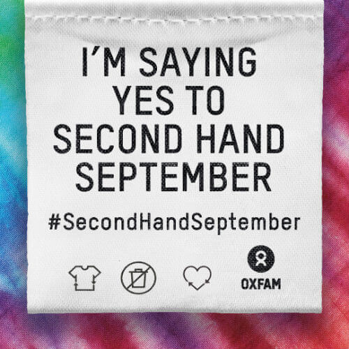 I'm saying yes to second hand September