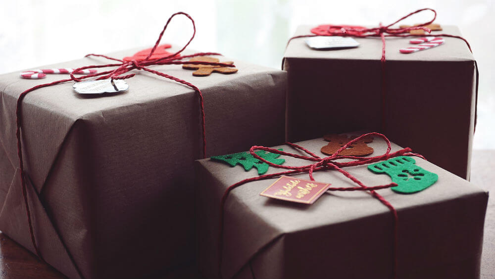 Sustainable Christmas presents