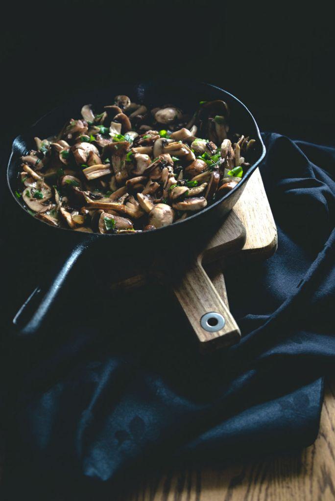 Vegan recipe mushroom stroganoff
