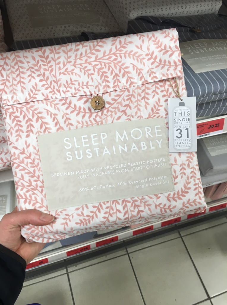 Sainsbury's sustainable bedding sets